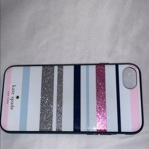 Kate Spade iPhone 8/7 desert stripe
